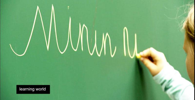 Учимся писать левой рукой