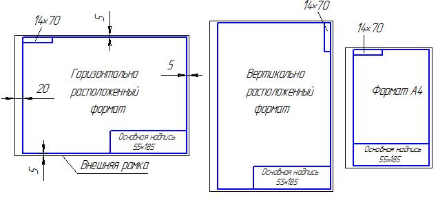 Оформление чертежей по ЕСКД