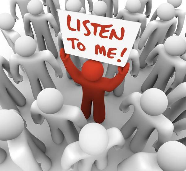 Заставьте вас слушать!