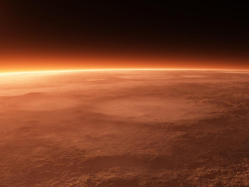 Основа атмосферы Марса: подробная информация в статье