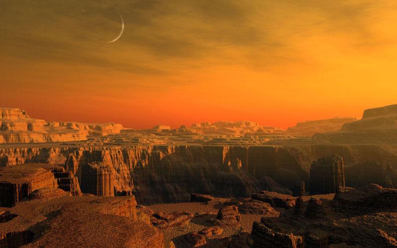 Жить на Марсе было бы холодно. Гораздо холоднее, чем в эти выходные в стране