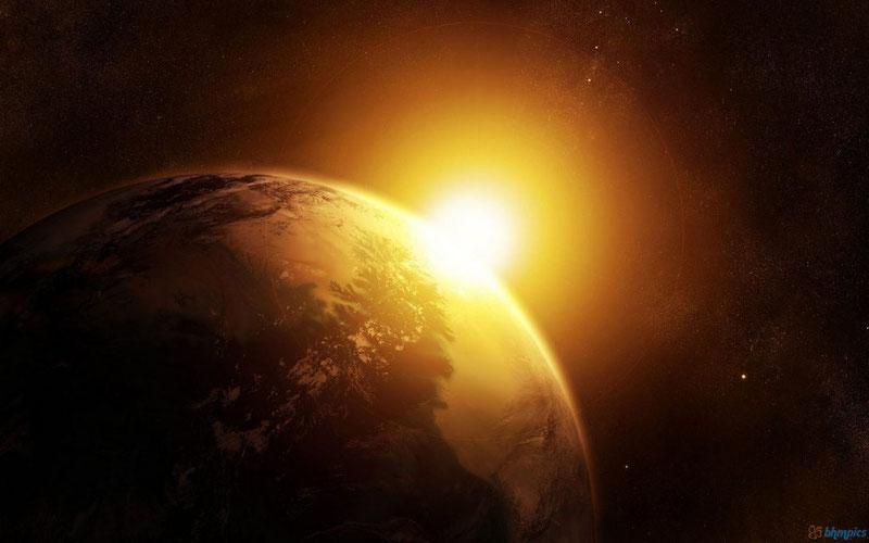 8 минут - время, за которое свет проходит расстояние от Солнца до Земли