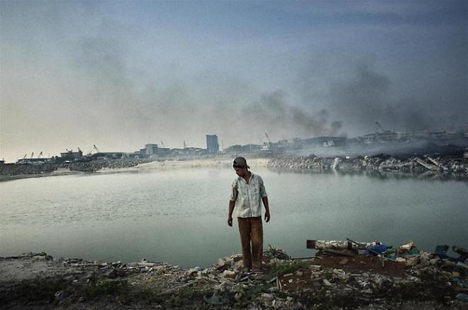 Прибрежные воды Индии считаются одними из самых загрязненных