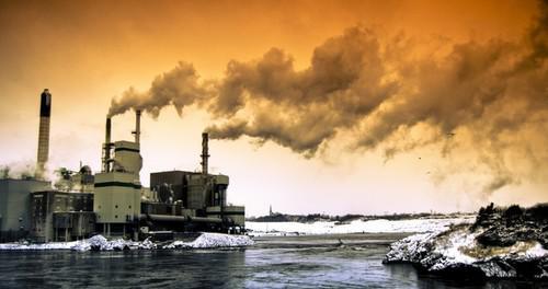 Атмосферные загрязнения - первая причина изменения климатических норм