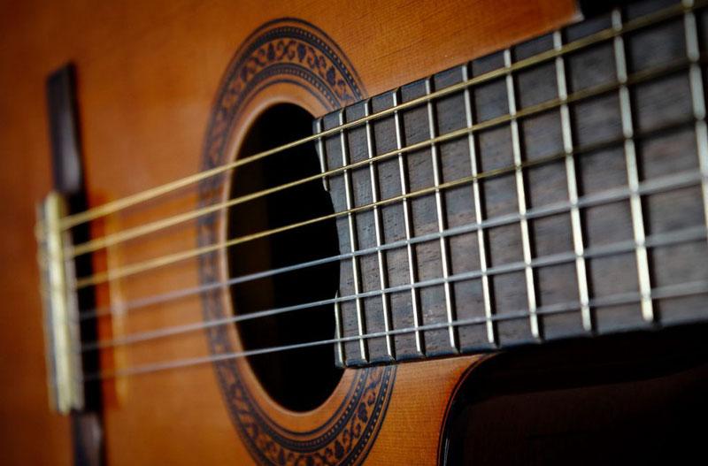 Резонатор гитары