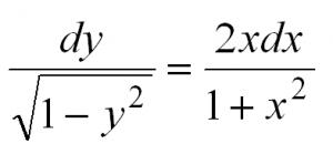 дифференциальные уравнения первого порядка для чайников