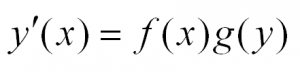 как решать дифференциальные уравнения для чайников