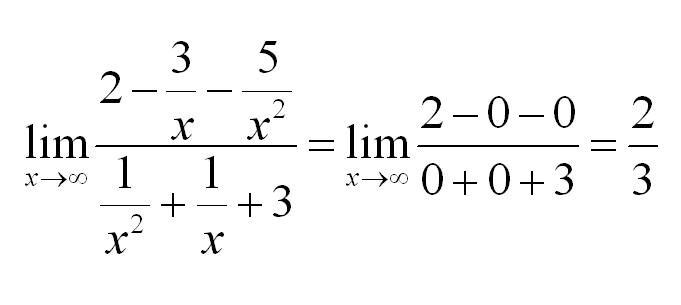 задания по математике пределы