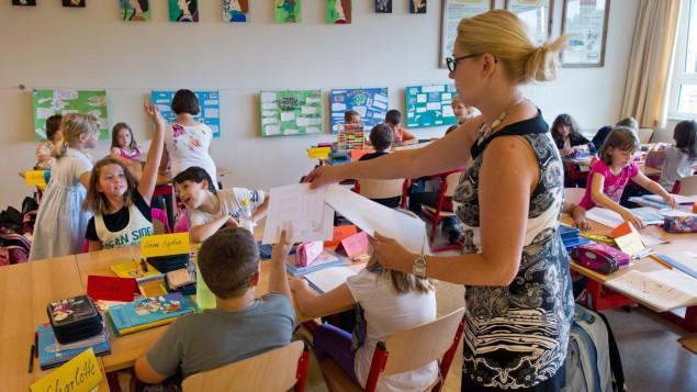 Как и в России, начальное образование в школе Германии предоставляется бесплатно
