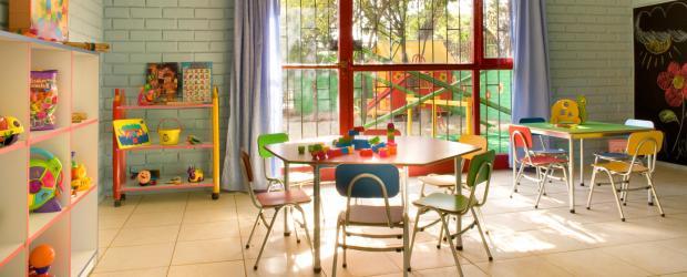 В детском саду Германии деток учат развитию речи и мышления, а также находить общий язык со сверстниками