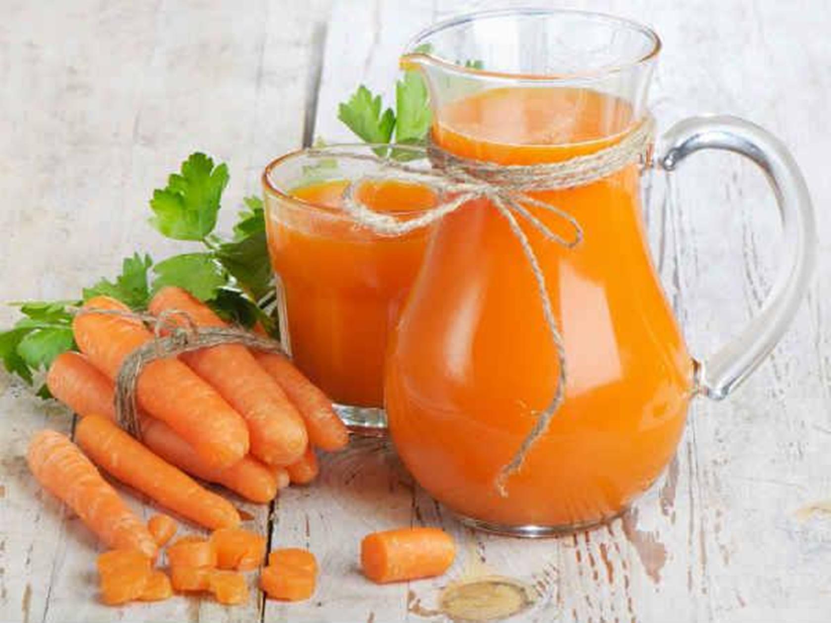 сок моркови лечебные свойства