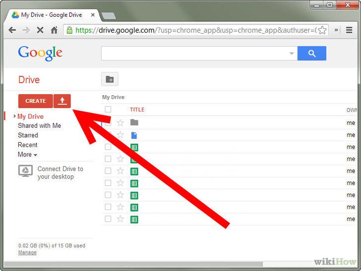 работа с гугл документом