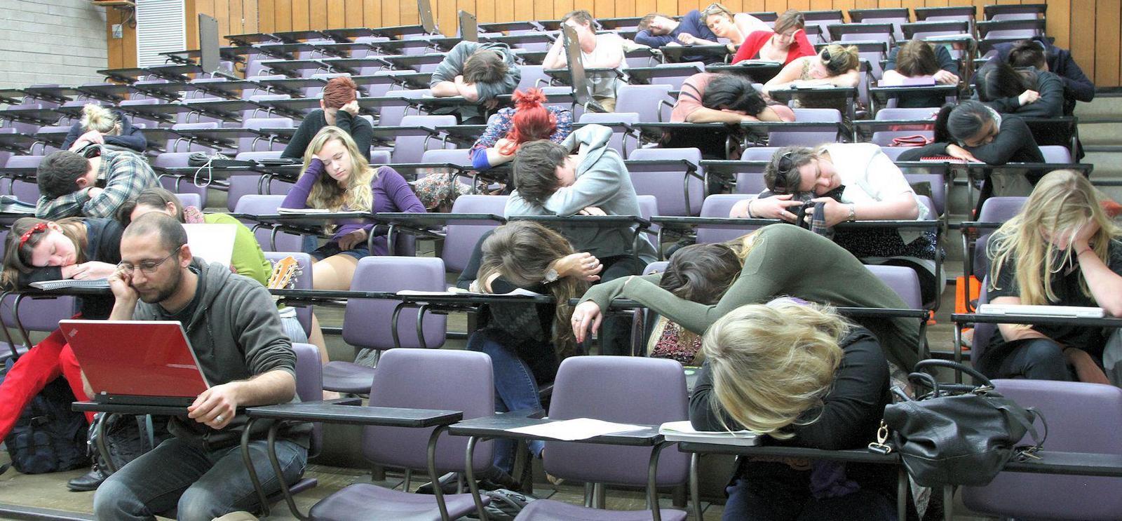 почему лекцию читают