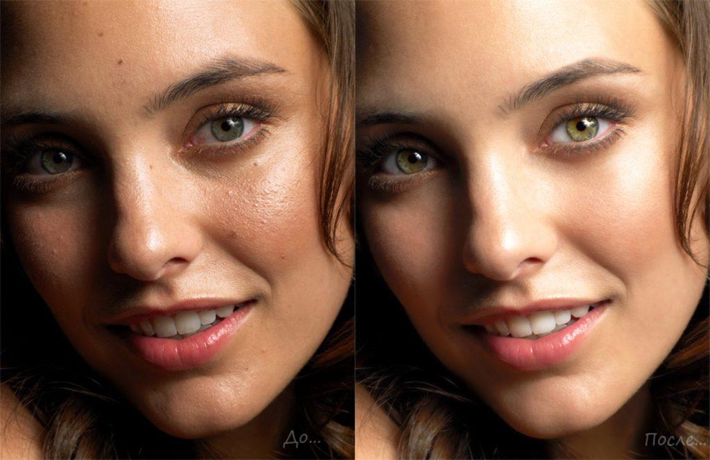 Как сделать гладким лицо в фотошопе - ЛЕГИОН