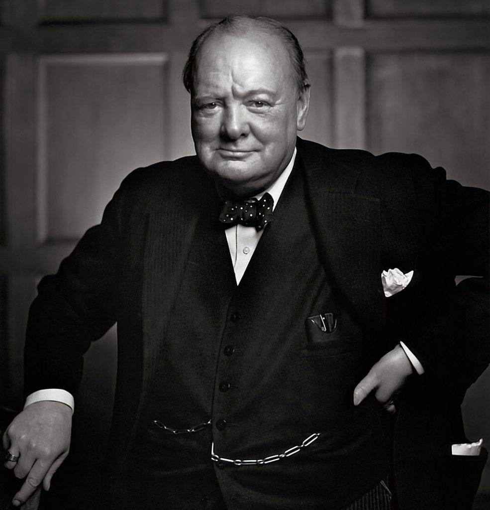 Черчилль - был послоедним учеником в классе
