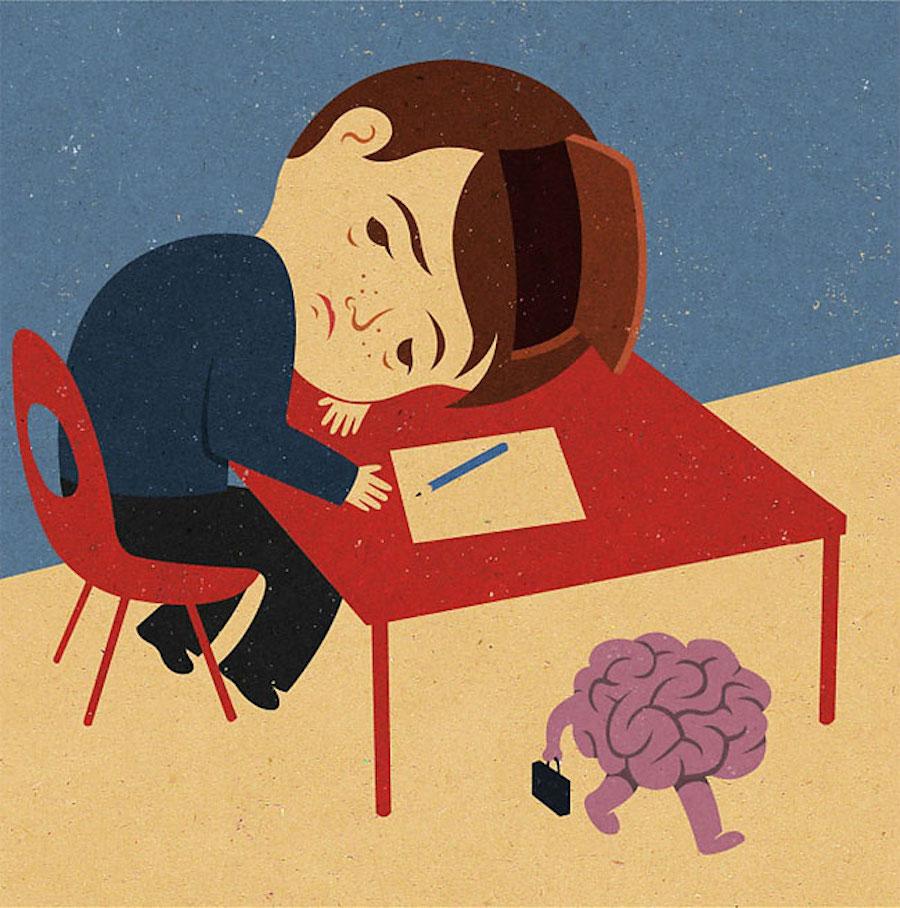 Почему мозг не работает?
