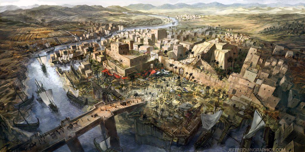 как называлась земля где зародилась древняя цивилизация