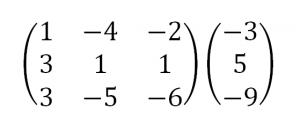 решить систему уравнений методом исключения неизвестных гаусса
