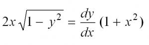 дифференциальные уравнения для чайников примеры