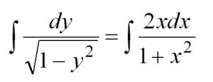 решение дифференциальных уравнений первого порядка для чайников