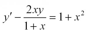 дифференциальные уравнения 1 порядка для чайников