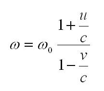 эффект доплера вывод формулы