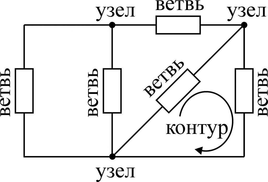 топология электрических цепей