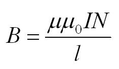 магнетизм формулы